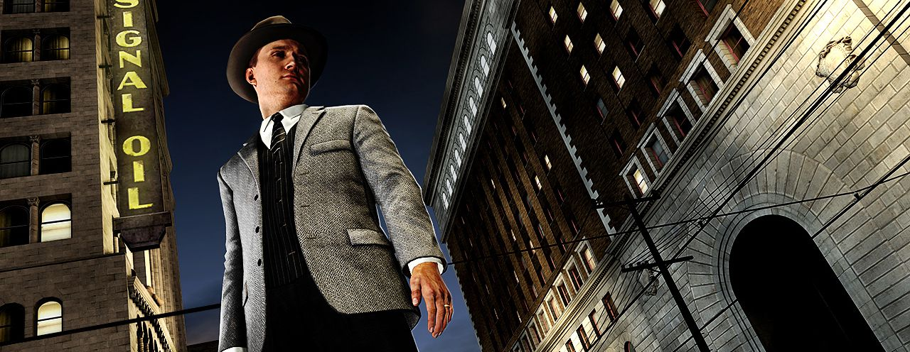 Publicity still for L.A. Noire