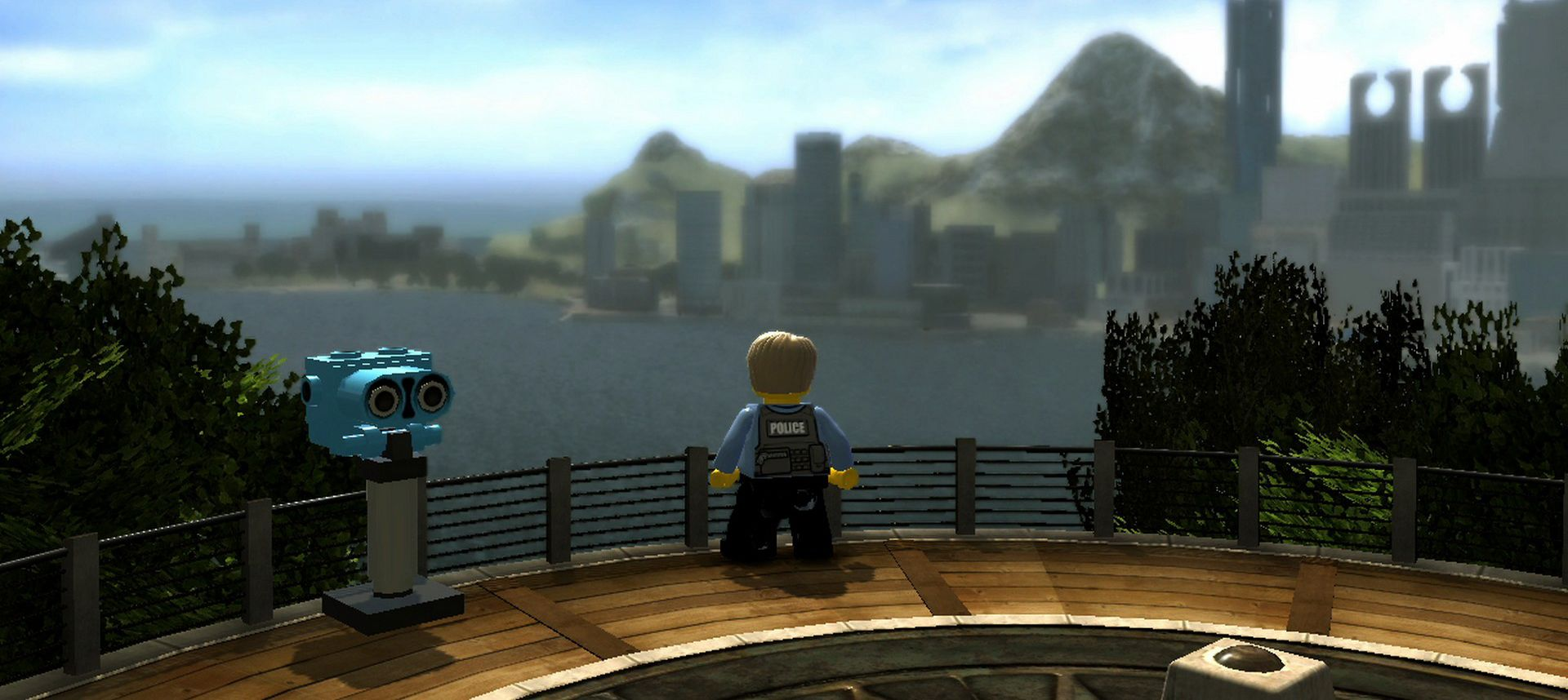 Publicity still for LEGO City Undercover