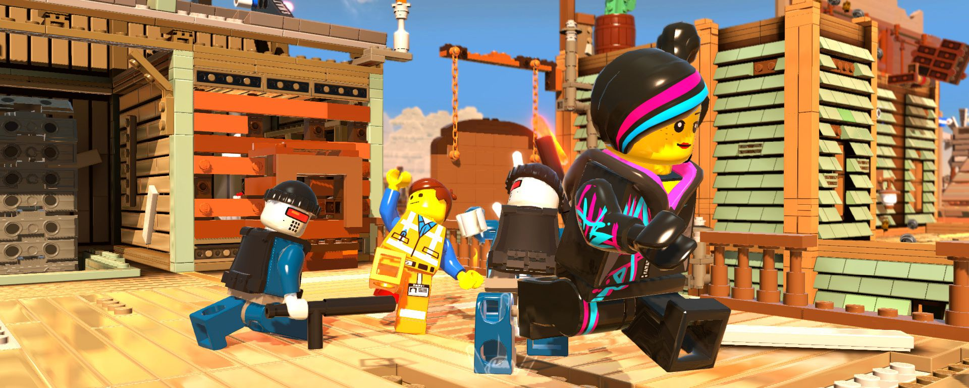 Publicity still for The LEGO Movie Videogame