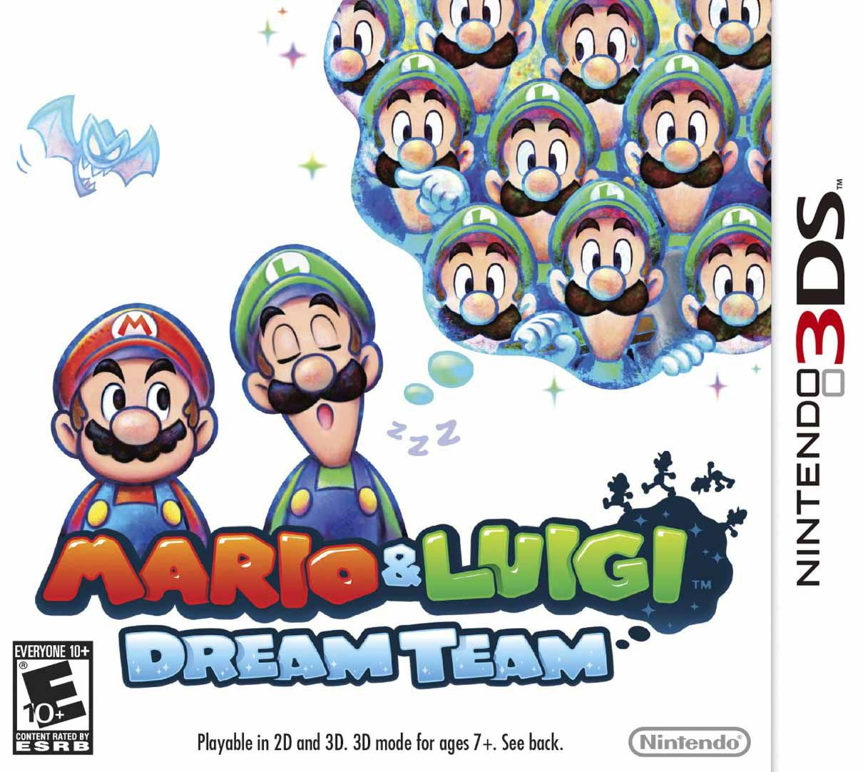 Publicity still for Mario & Luigi: Dream Team