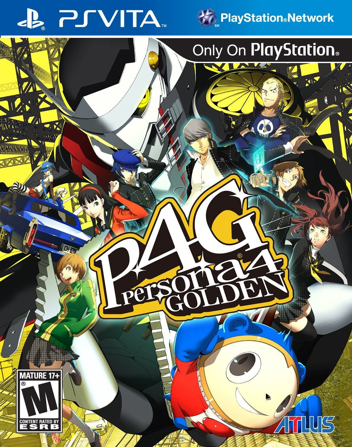 Publicity still for Persona 4 Golden