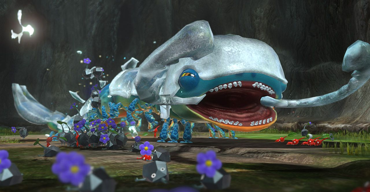 Publicity still for Pikmin 3