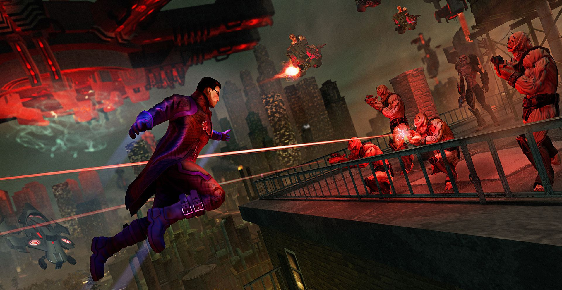 Publicity still for Saints Row IV