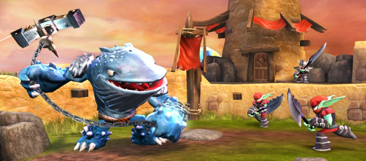 Publicity still for Skylanders Giants