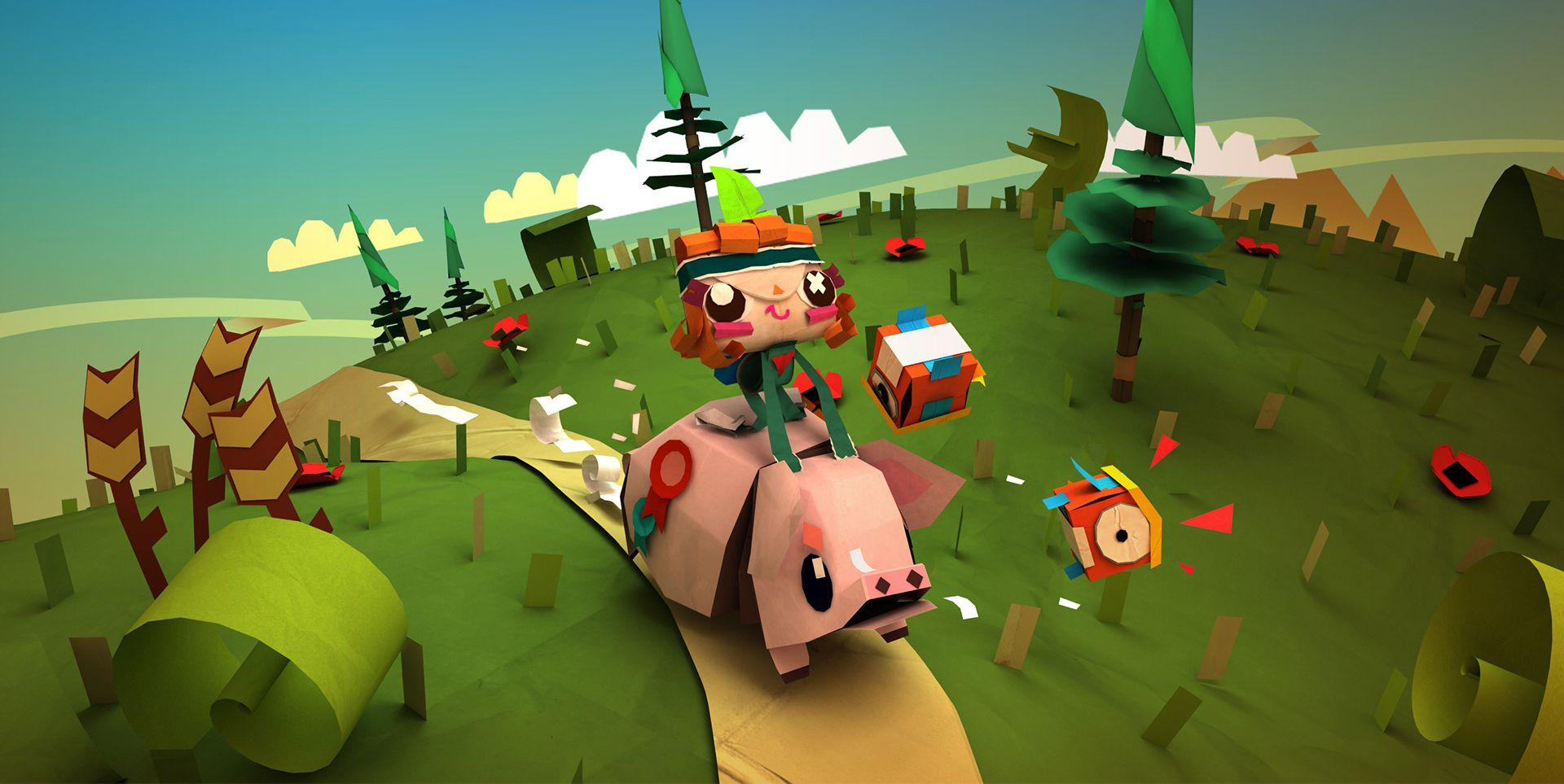 Publicity still for Tearaway