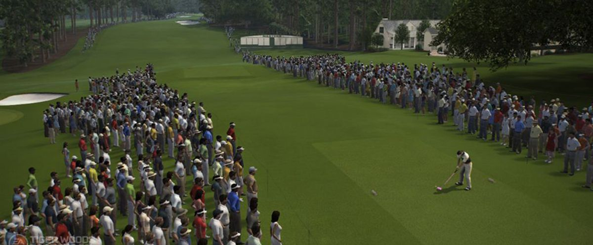 Publicity still for Tiger Woods PGA Tour 14