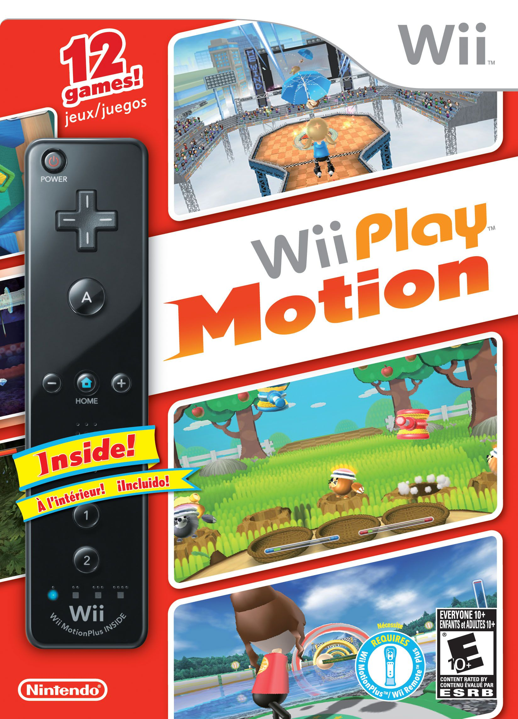 Publicity still for Wii Play Motion