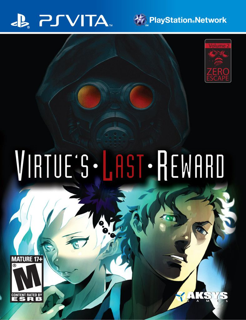 Publicity still for Zero Escape: Virtue's Last Reward
