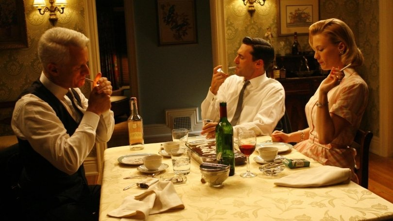 "Mad Men Recap: Season 1, Episode 7, ""Red in the Face"""
