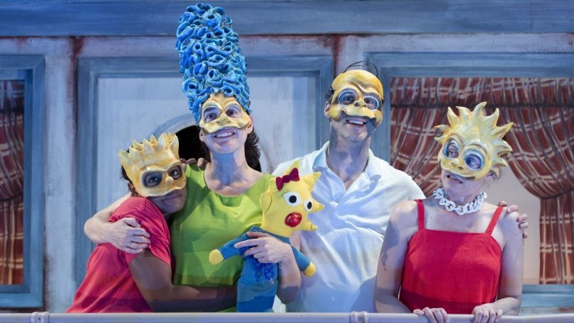 Review: Mr. Burns at Playwrights Horizons