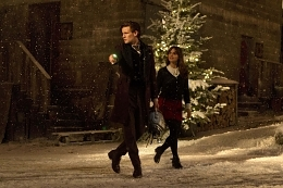 """Doctor Who Recap: 2013 Christmas Special, """"The Time of the Doctor"""""""