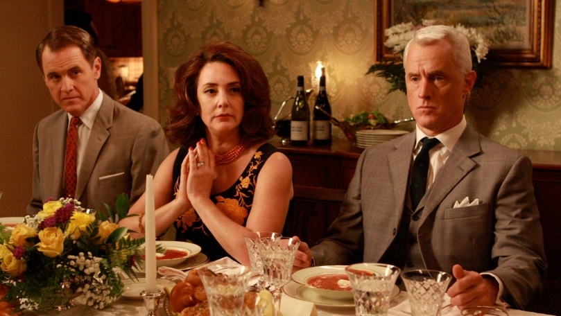 "Mad Men Recap: Season 2, Episode 8, ""A Night to Remember"" & Episode 9, ""Six Months' Leave"""