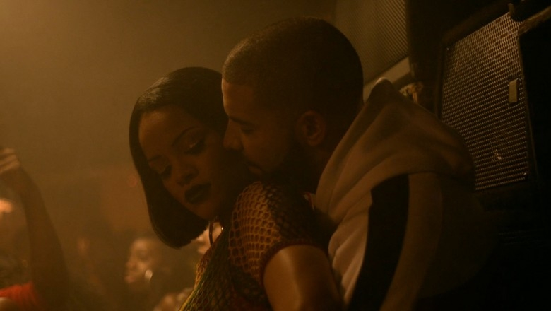 "Rihanna & Drake Get to ""Work"" in Two New Music Videos"