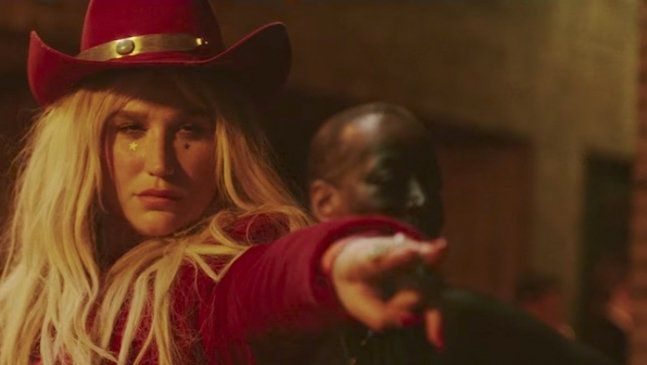 "Kesha Drops Feminist Trump-Inspired Track and Video ""Woman"""