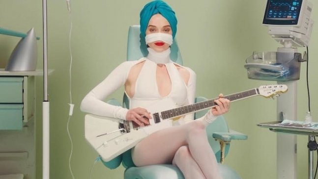 "St. Vincent Goes Under the Knife in ""Los Ageless"" Music Video"