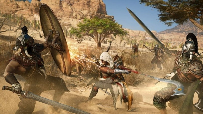 Assassin's Creed Origins Director Addresses Concerns About Loot Boxes, Microtransactions