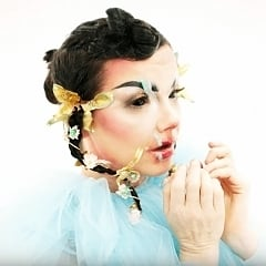 "Björk Blisses Out in Music Video for ""Blissing Me"""