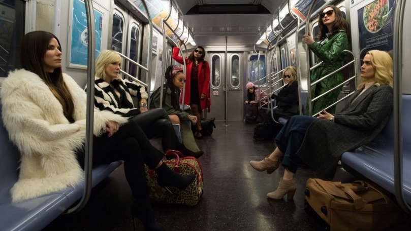 Watch the New Trailer for Ocean's 8 Starring Sandra Bullock and Rihanna