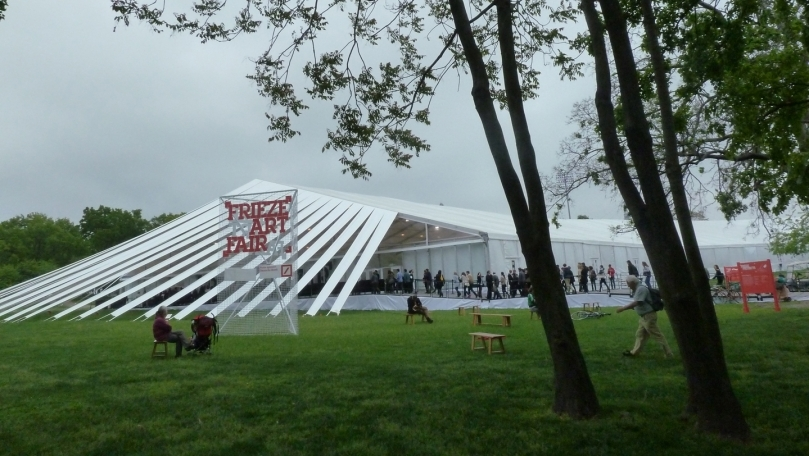 Impressions from Frieze New York 2012