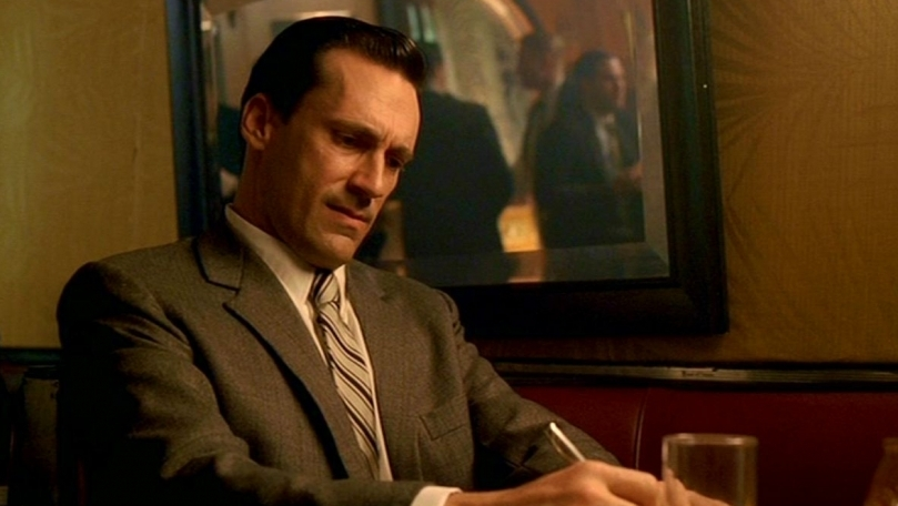 "Mad Men Recap: Season 1, Episode 1, ""Smoke Gets in Your Eyes"""