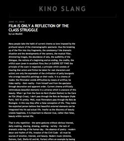 Kino Slang