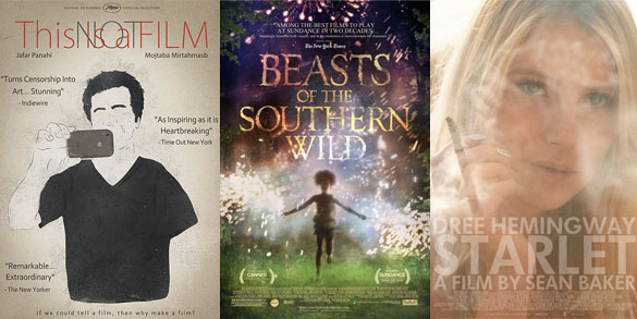 This Is Not a Film, Beasts of the Southern Wild, Starlet