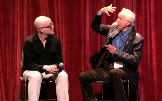 Matt Zoller Seitz interviews Haskell Wexler at Ebertfest