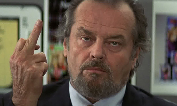 Jack Nicholson is not retiring from acting due to memory loss. Jacknicholson