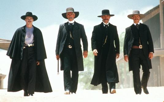 Kurt Russell, Val Kilmer, Sam Elliott, and Bill Paxton