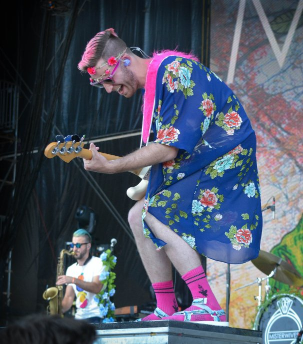 Misterwives at Bonnaroo | Photo by Chris Jorgensen