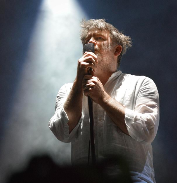 James Murphy of LCD Soundsystem at Bonnaroo | Photo by Chris Jorgensen