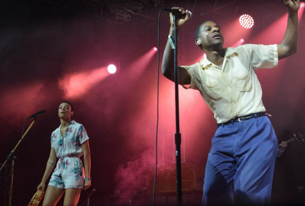 Leon Bridges at Bonnaroo | Photo by Chris Jorgensen