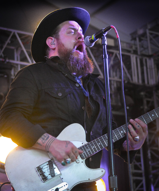 Nathaniel Rateliff at Bonnaroo | Photo by Chris Jorgensen