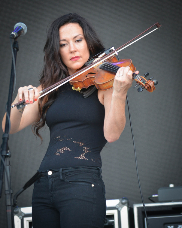 Amanda Shires at Bonnaroo | Photo by Chris Jorgensen