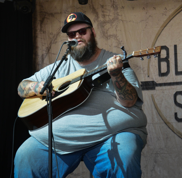 John Moreland at Bonnaroo | Photo by Chris Jorgensen
