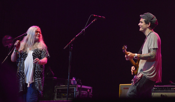 Donna Jean Godchaux and John Mayer at Bonnaroo | Photo by Chris Jorgensen