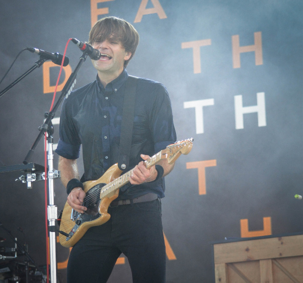 Ben Gibbard of Death Cab for Cutie at Bonnaroo | Photo by Chris Jorgensen