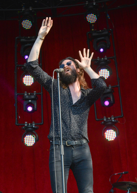 Father John Misty at Bonnaroo | Photo by Chris Jorgensen