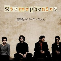 Publicity still for Stereophonics: Graffiti on the Train