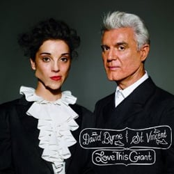 Publicity still for David Byrne & St. Vincent: Love This Giant