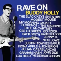Publicity still for Various Artists: Rave on Buddy Holly