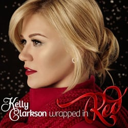 Publicity still for Kelly Clarkson: Wrapped in Red