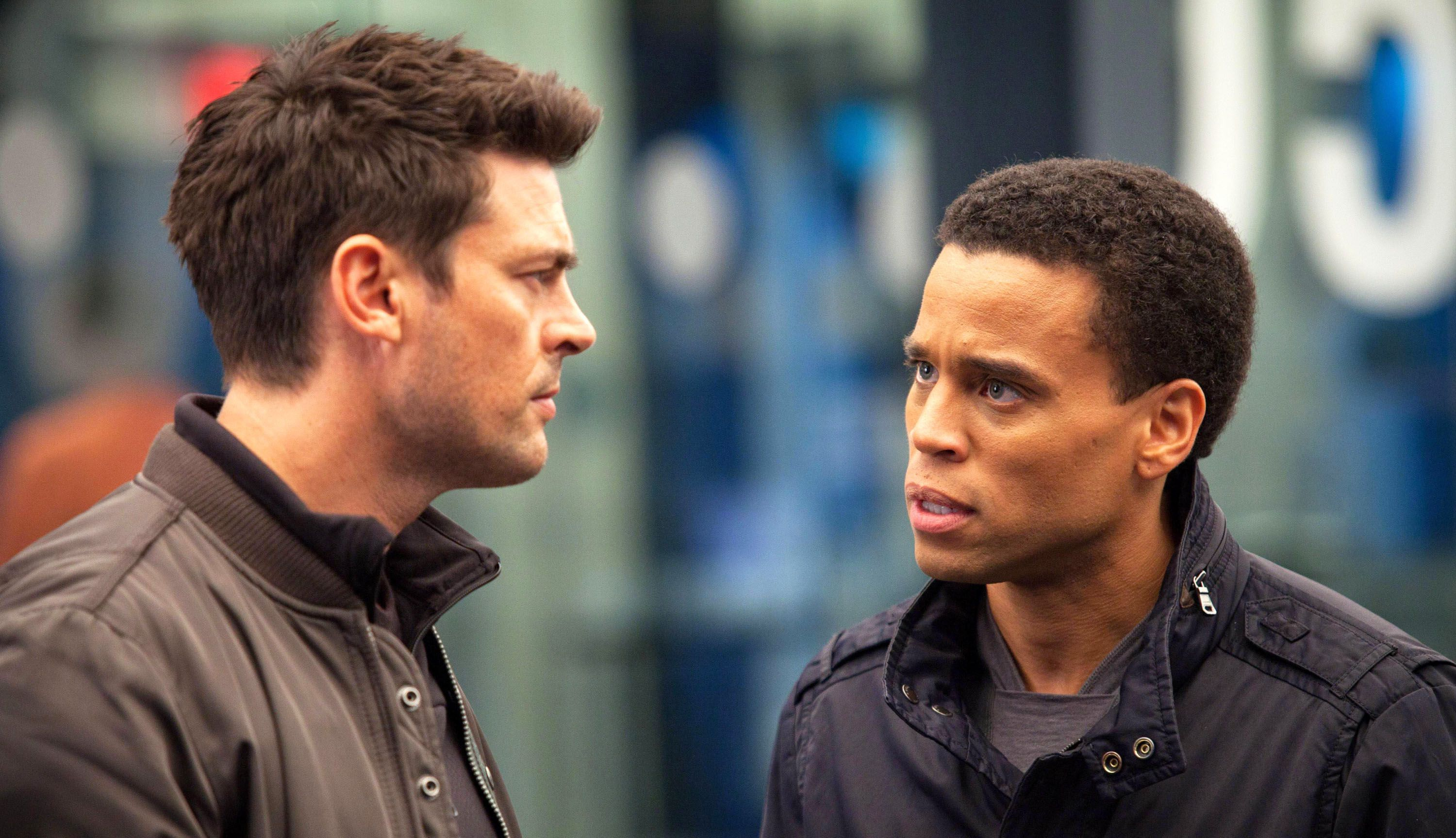 An image from Almost Human: Season One