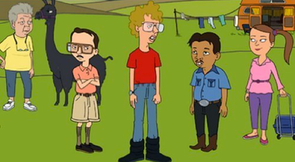 An image from Napoleon Dynamite: Season One