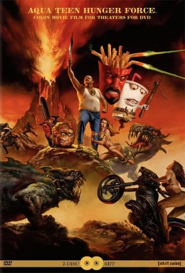 Aqua Teen Hunger Force Colon Movie Film for Theaters for DVD