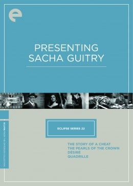 Eclipse Series 22: Presenting Sacha Guitry