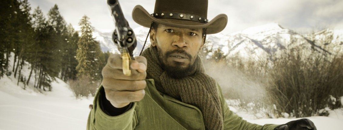 film review django unchained Early in steven spielberg's lincoln, a young african-american soldier meets the president of the united states on a bloody battlefield and starts reciting the gettysburg address like james earl jones late in quentin tarantino's django unchained, an elderly african-american house.