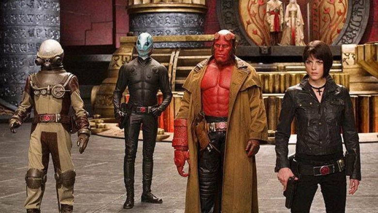 <em>Hellboy II: The Golden Army</em>, Take 1