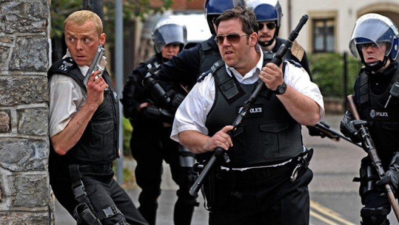 Tipsy on Cleverness: Hot Fuzz