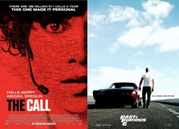 Poster Lab: <em>The Call</em> and <em>Fast &amp; Furious 6</em>